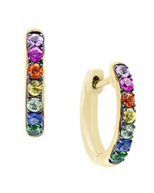 Bloomingdale's - Multicolor Sapphire and Tsavorite