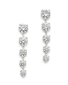 Bloomingdale's - Diamond Graduated Drop Earrings i