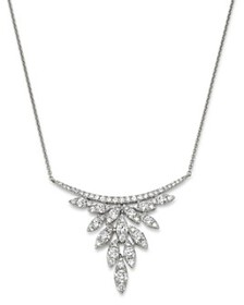 Bloomingdale's - Diamond Petals Pendant Necklace i