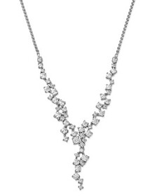 Bloomingdale's - Diamond Cascade Necklace in 14K W