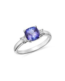 Bloomingdale's - Tanzanite & Diamond Ring in 14K W