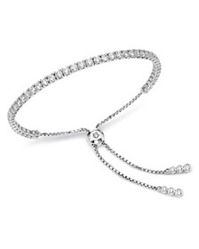Bloomingdale's - Diamond Tennis Bolo Bracelet in 1