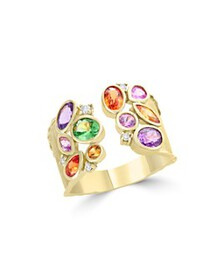 Bloomingdale's - Multicolor Sapphire, Diamond and