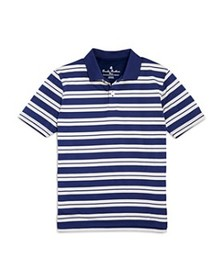 Brooks Brothers - Boys' Striped Performance Polo -