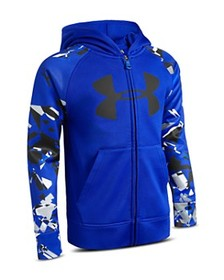 Under Armour - Boys' Shattered Big Logo Hoodie - L
