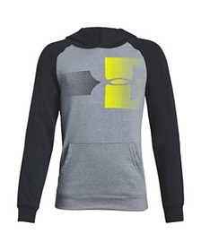 Under Armour - Boys' Rival Logo-Graphic Hooded Swe