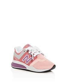 New Balance - Girls' 247 Low-Top Sneakers - Toddle