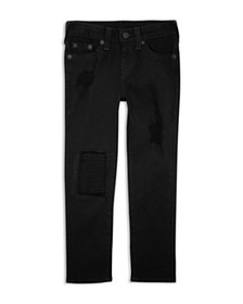 True Religion - Boys' Distressed Rocco Jeans - Lit