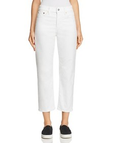 Levi's - Wedgie Straight Corduroy Jeans in Marshma