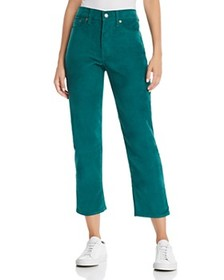 Levi's - Wedgie Straight Corduroy Jeans in Evergre