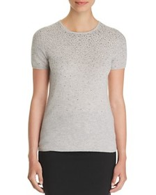 C by Bloomingdale's - Cascade Embellished Cashmere