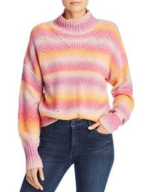 Rebecca Minkoff - Brinkley Multicolor Striped Swea