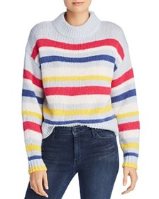 Rebecca Minkoff - Brittany Multicolor Striped Swea
