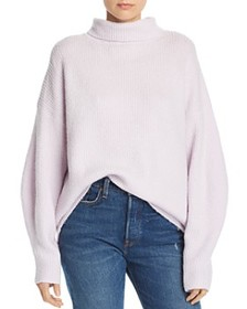 FRENCH CONNECTION - Urban Flossy Ribbed Knit Sweat