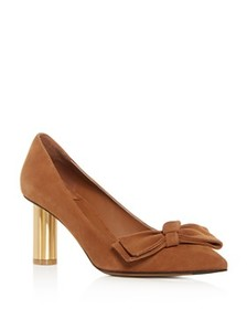 Salvatore Ferragamo - Women's Garlate Suede Pointe