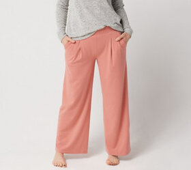 """As Is"" AnyBody Loungewear Cozy Knit Petite Relaxe"