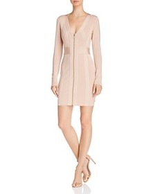 GUESS - Mirage Zip-Front Body-Con Dress