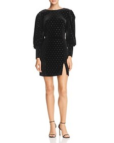 Rebecca Minkoff - Gwen Embellished Velvet Dress