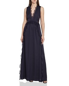 REISS - Odette Lace-Trimmed Gown