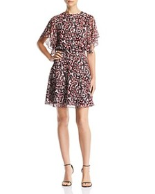 Rebecca Minkoff - Tasha Printed A-Line Dress