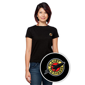 Futurama Planet Express Ladies' T-Shirt