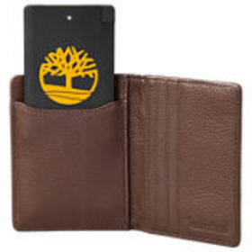 Leather Wallet with Pocket Charger