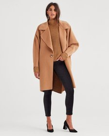 Long Jacket in Camel