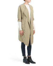 PHILOSOPHY Front Pocket Trench Coat