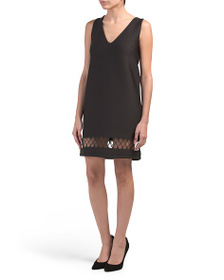 FRENCH CONNECTION Deep V Stretch Dress