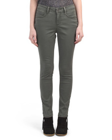 SOUND STYLE Color Skinny Jeans