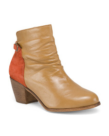 MATISSE Made In Brazil Leather Ankle Booties