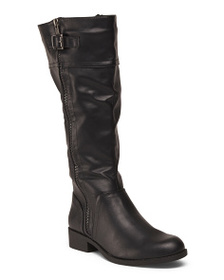 MIA Side Zip High Shaft Riding Boots