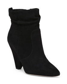 SAM EDELMAN Suede Pointy Toe Boots