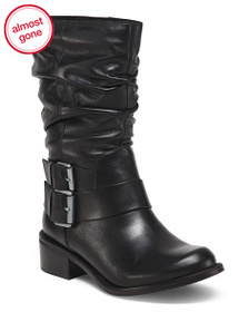 MATISSE Made In Brazil Mid Shaft Leather Boots