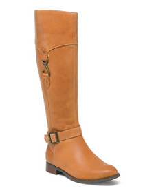 SPERRY High Shaft Leather Riding Boots