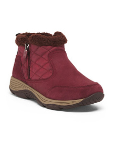 EASY SPIRIT Comfort Quilted Ankle Winter Boots