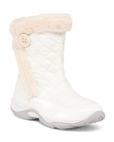 EASY SPIRIT Comfort Quilted Mid Shaft Winter Boots