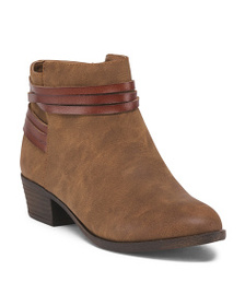 MADDEN GIRL Braided Ankle Booties