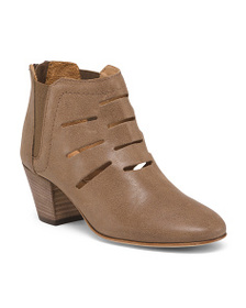 AQUATALIA Made In Italy Casual Leather Ankle Booti