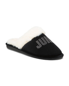 JUICY BY JUICY COUTURE Logo Slippers