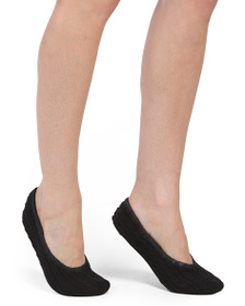 ARLOTTA Cashmere Baby Cable Ballet Slippers