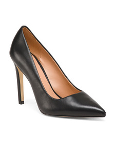 HALSTON HERITAGE Leather Pumps