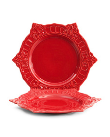 MATCERAMICA Made In Portugal 2pk Venice Dinner Pla on sale at T J Maxx