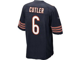 Chicago Bears Jay Cutler Nike NFL Youth Game Jerse
