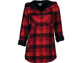 Natural Reflections® Women's Hooded Flannel Shirt