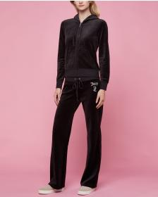 Juicy Couture Ornate Cameo Velour Robertson Jacket