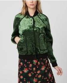 Juicy Couture Bonded Crushed Velvet Jacket