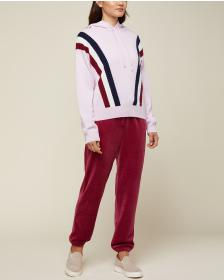 Juicy Couture Cashmere Hooded Pullover