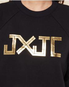 Juicy Couture JXJC Gold Foil Logo Pullover