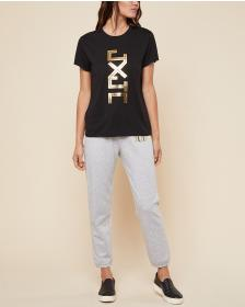 Juicy Couture JXJC Gold Foil Logo Tee